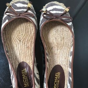 Michael Kors flats only worn twice!